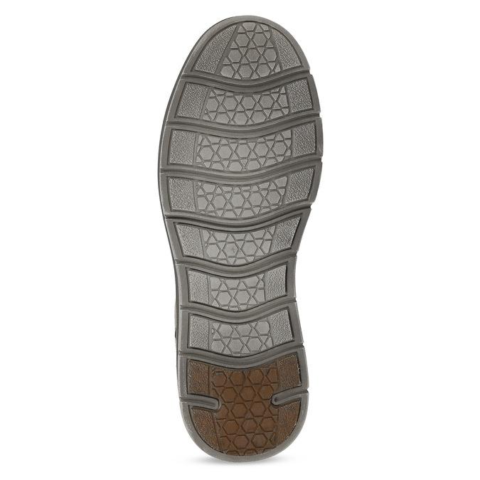 Béžové pánské ležérní polobotky weinbrenner, hnědá, 846-3604 - 18