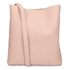 Růžová dámská kabelka s prošitím bata, růžová, 961-0351 - 16