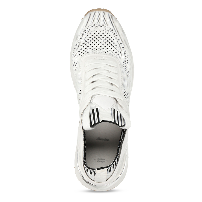 Bílé dámské tenisky bata, bílá, 549-1617 - 17