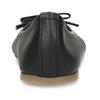 Černé dívčí kožené baleríny mini-b, černá, 324-6601 - 15