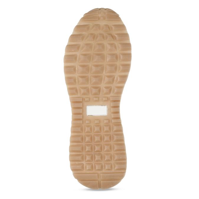 Bílé dámské tenisky bata, bílá, 549-1617 - 18