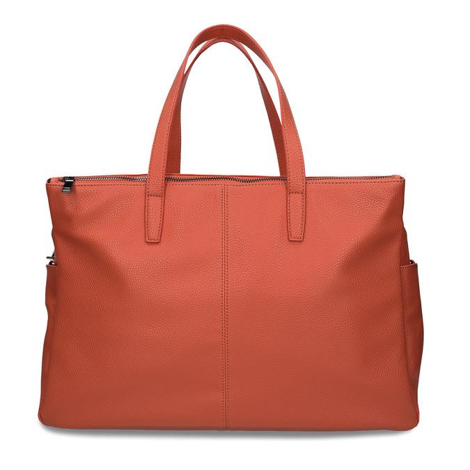 Oranžová dámská kabelka velká bata, oranžová, 961-5646 - 26