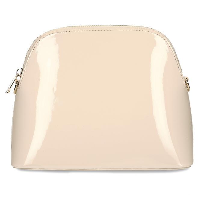 Malá růžová lakovaná kabelka bata, růžová, 961-5641 - 26