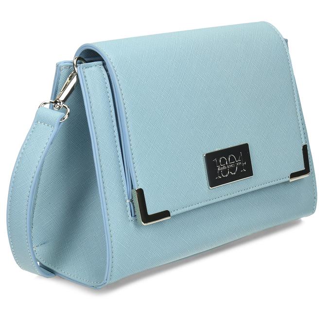 Modrá dámská crossbody kabelka bata, modrá, 961-9611 - 13