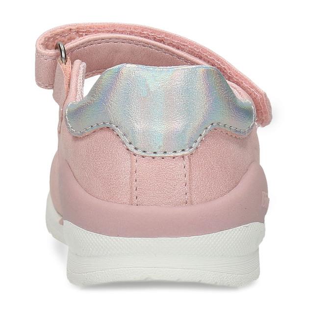 Růžové dívčí sandály se srdíčky bubblegummers, růžová, 121-5601 - 15