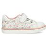 Bílé dívčí tenisky s kytičkami bubblegummers, bílá, 121-1603 - 19