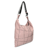 Růžová dámská kabelka s geometrickým vzorem bata, růžová, 961-5674 - 13