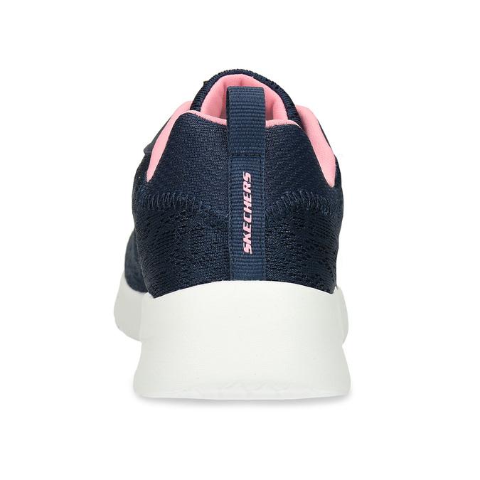Modré dámské sportovní tenisky skechers, modrá, 509-9393 - 15