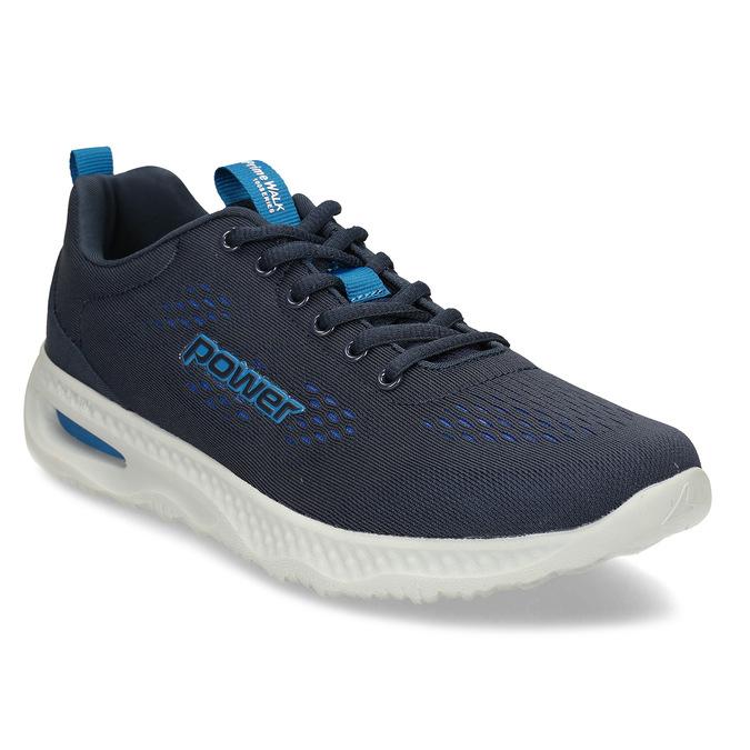 Modré pánské sportovní tenisky power, modrá, 809-9650 - 13