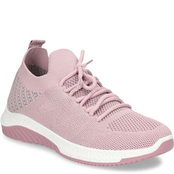 Růžové dámské odlehčené sportovní tenisky bata-light, růžová, 529-5600 - 13