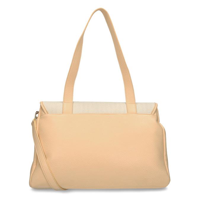 Béžová dámská kabelka s řetízkem bata, béžová, 961-8607 - 16
