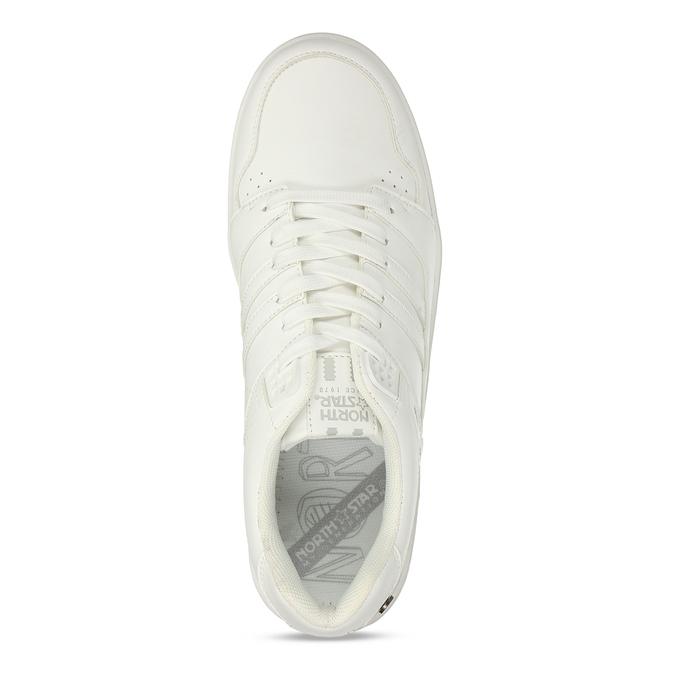 Bílé pánské tenisky v městském stylu north-star, bílá, 841-1635 - 17