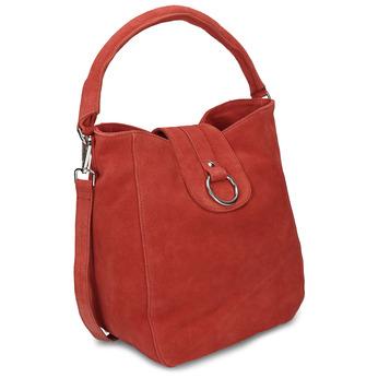 Červená kožená dámská kabelka bata, červená, 964-5643 - 13