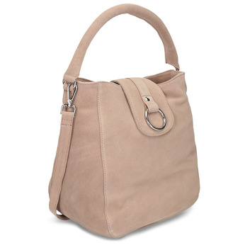 Béžová kožená dámská kabelka bata, béžová, 964-8643 - 13