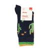 Modré pánské ponožky s kaktusy bata, modrá, 919-9638 - 13