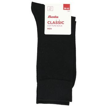 Černé pánské ponožky bata, černá, 919-9639 - 13