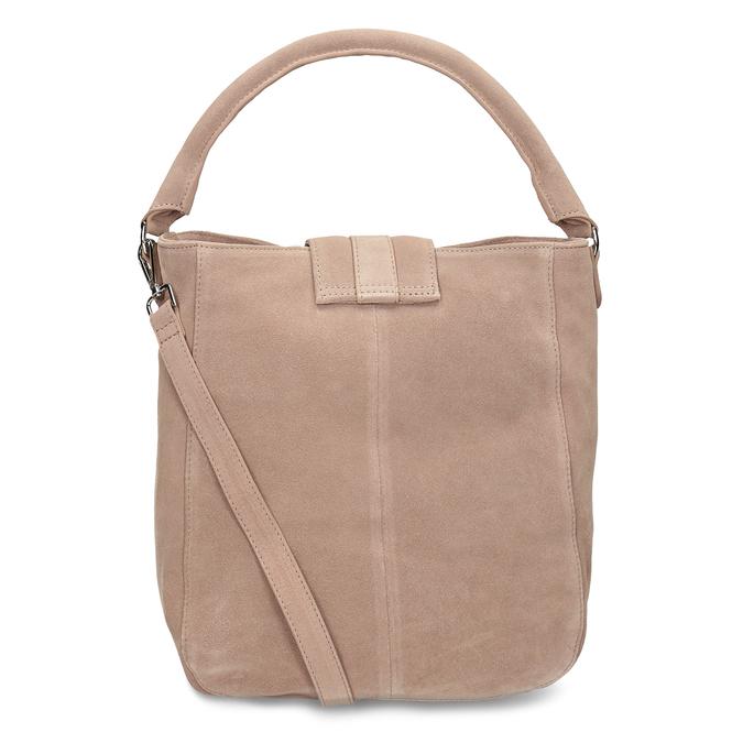 Béžová kožená dámská kabelka bata, béžová, 964-8643 - 16