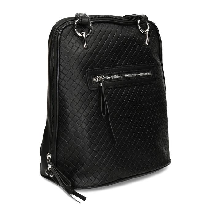 Černý dámský městský batoh bata, černá, 960-6653 - 13