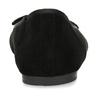 Černé dámské baleríny s mašlí bata, černá, 529-6606 - 15