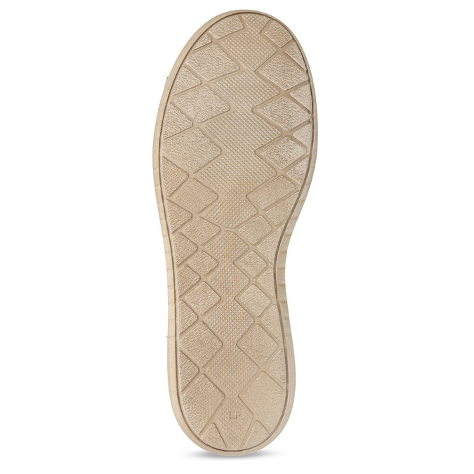 Hnědé dámské kožené ležérní tenisky weinbrenner, hnědá, 544-4633 - 18