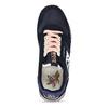 Černé dámské kožené sneakersky s fialovou podešví napapijri, modrá, 543-9602 - 17