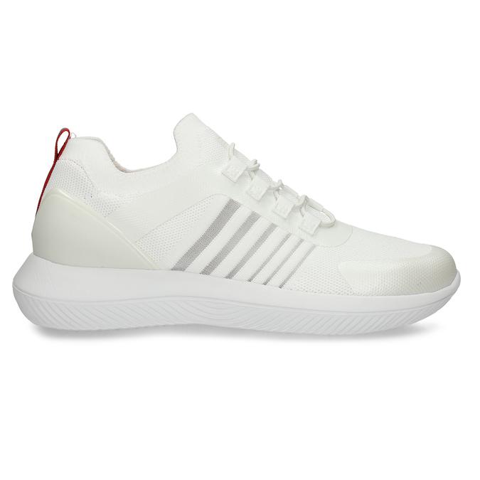 Bílo-stříbrná dámské sportovní tenisky bata-3d-energy, bílá, 549-1609 - 15
