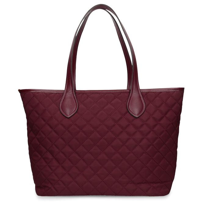 Bordó dámská větší kabelka s klíčenkou bata, červená, 961-5615 - 16