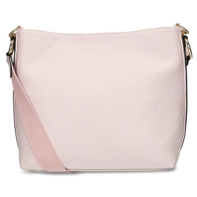 Růžová dámská kabelka se zlatým řetízkem bata, růžová, 961-5625 - 16