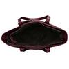Bordó dámská větší kabelka s klíčenkou bata, červená, 961-5615 - 15