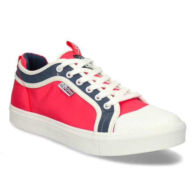 Červené pánské tenisky v oldchool stylu napapijri, červená, 849-5600 - 13
