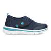 Modré dětské tenisky na suchý zip bubblegummers, modrá, 319-9324 - 19