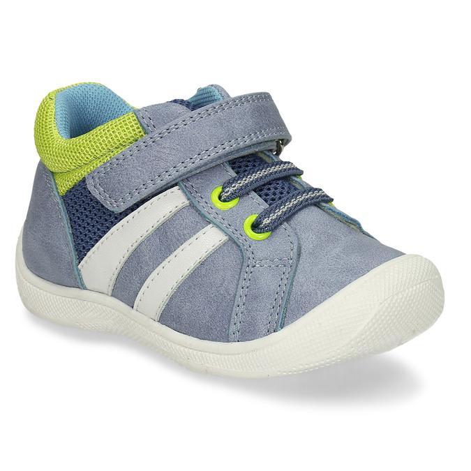 Chlapecké tenisky na suchý zip mini-b, modrá, 111-9601 - 13
