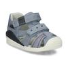 Modré chlapecké sandály na suchý zip bubblegummers, modrá, 161-9602 - 13