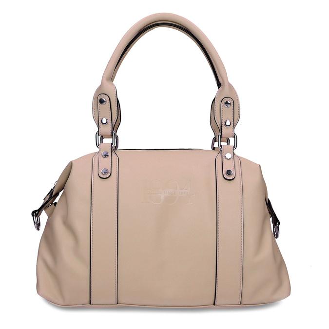 Béžová dámská kabelka střední velikosti bata, béžová, 961-8612 - 26
