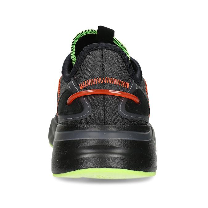 Černé pánské sportovní tenisky adidas, černá, 809-6164 - 15