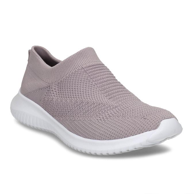 Růžové dámské Slip-on tenisky bata-light, růžová, 529-5605 - 13