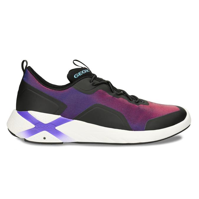 Fialové dívčí technologicky optimalizované sneakersky geox, fialová, 429-6608 - 19
