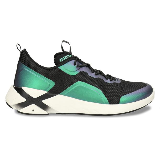 Černé chlapecké technologicky optimalizované tenisky geox, modrá, 419-9610 - 19