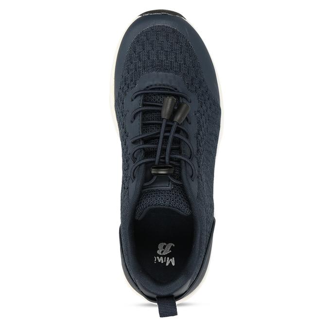 Modré dětské sportovní tenisky mini-b, modrá, 419-9605 - 17