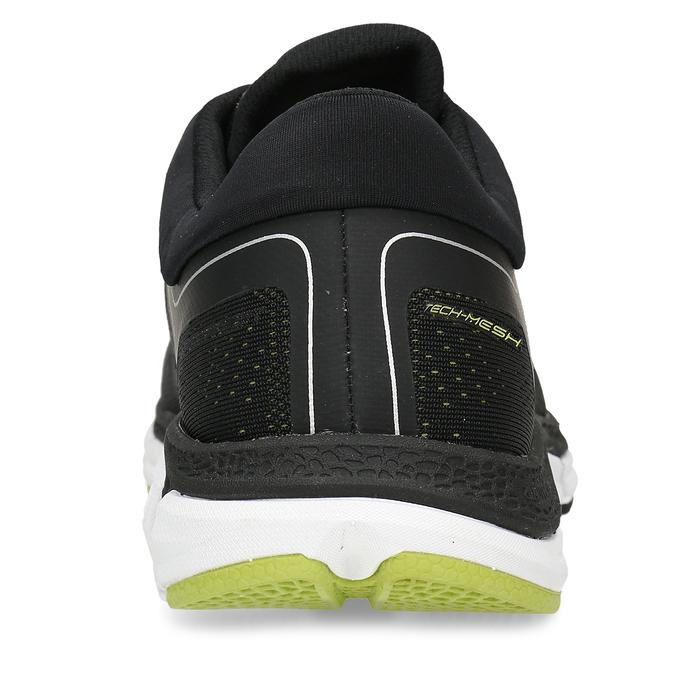 Černé pánské sportovní tenisky power, černá, 809-6620 - 15