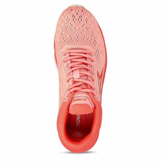 Oranžové dámské sportovní tenisky power, oranžová, 509-5620 - 17