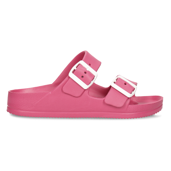 Růžové dámské pantofle bata, růžová, 572-5615 - 19