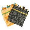Oranžová a černá dámská letní šála bata, vícebarevné, 909-0872 - 13