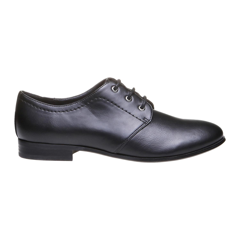 Myra - obuv v Brogue designu bata, černá, 2018-521-6157 - 26
