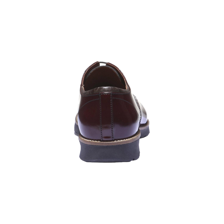 Kožené polobotky v Derby stylu bata, 2019-828-5160 - 17