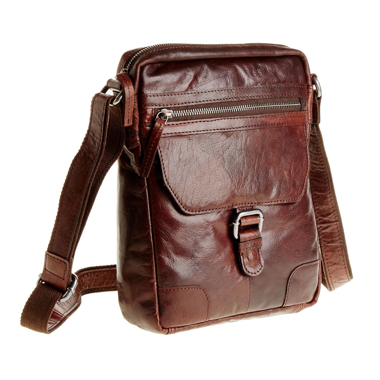 e1b2a6612 Pánská kožená Crossbody taška bata, hnědá, 964-4180 - 13 ...