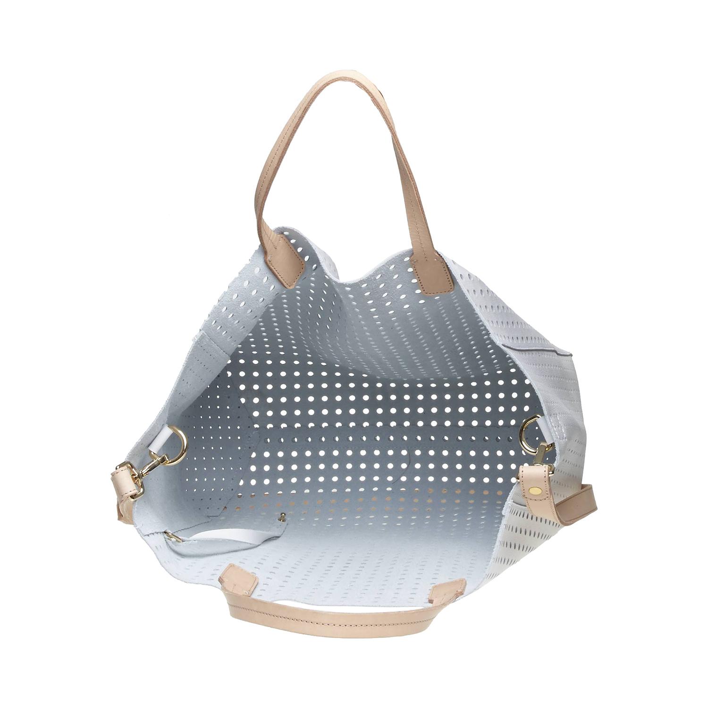 Kožená kabelka ve svěžím designu bata, bílá, 2017-964-1130 - 15