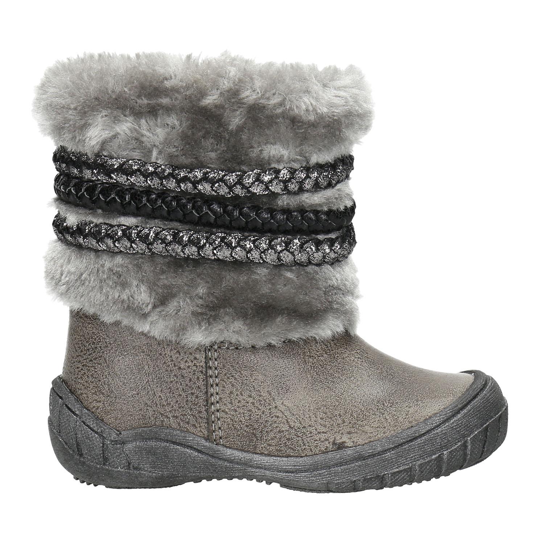 Bubblegummers Dětská zimní obuv s kožíškem - Všechny dívčí boty ... b85dd6637c