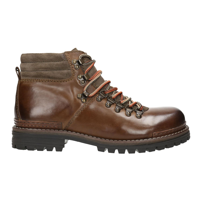 Baťa Kožená zimní obuv pánská - Kotníčková obuv  e6dcc89e16