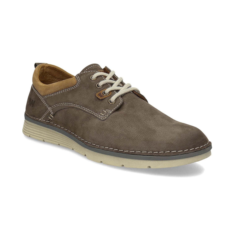 Weinbrenner Pánské kožené ležérní polobotky - Všechny boty  10c72ef55e